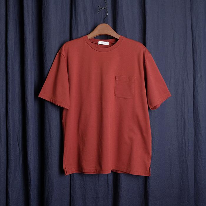 GLR UNITED ARROWS / made in japan 유나이티드 애로우즈 실키 포켓 티셔츠