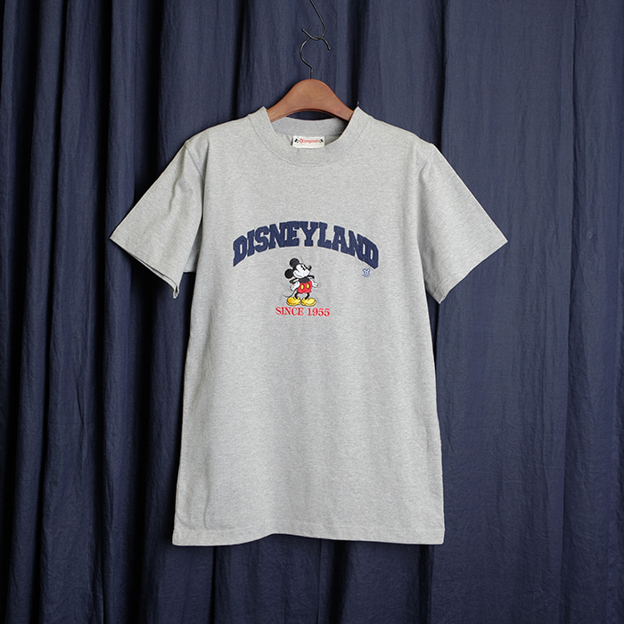 DISNEY LAND  디즈니 미키마우스 니들워크 티셔츠