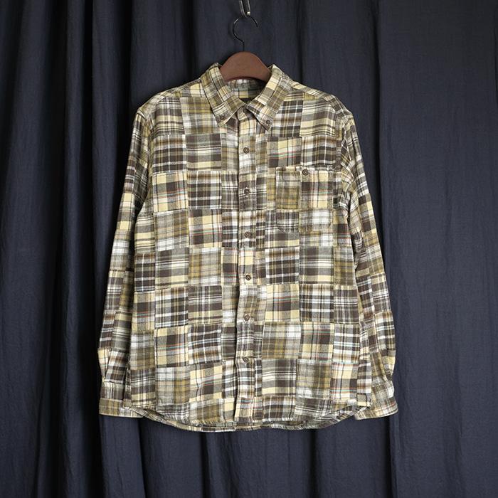EDDIEBAUER  에디바우어 패치워크셔츠