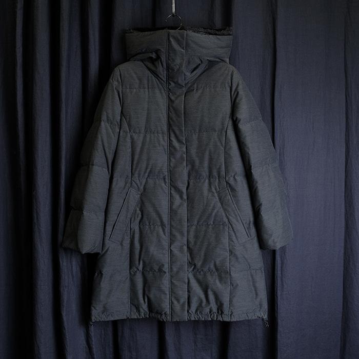 BEAMS  빔즈 후드 다운 코트