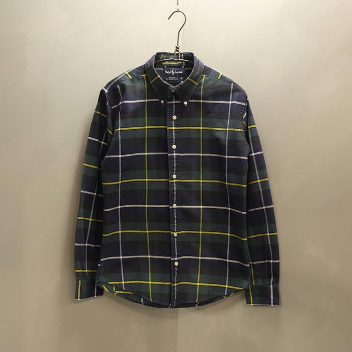 RALPH LAUREN / made in usa  랄프로렌 체크 셔츠