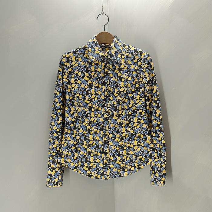 폴스미스  Paulsmith pink flower pattern biz shirt