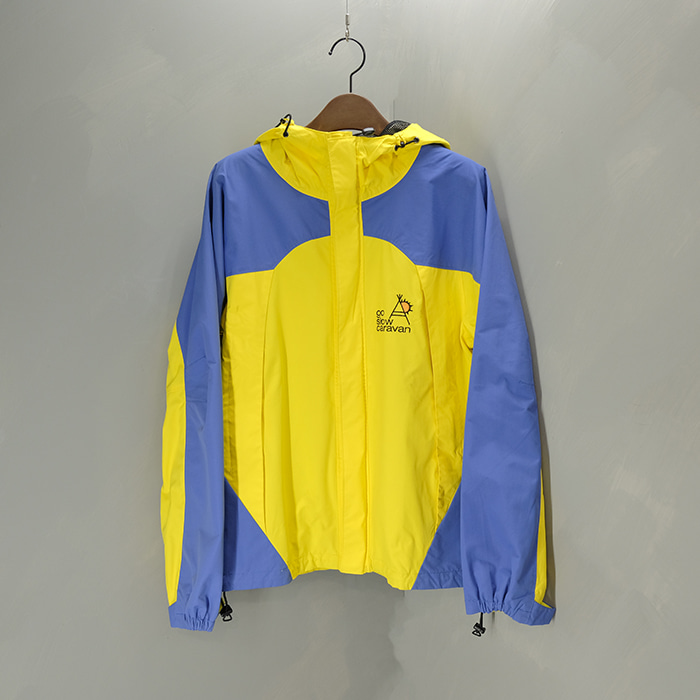 고 슬로우 카라반  Go slow caravan hoodie W/B jacket