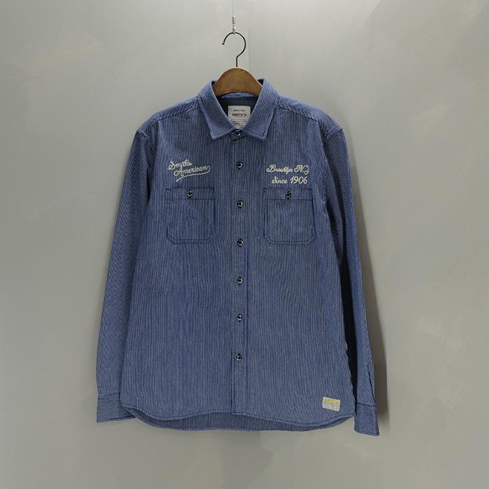 스미스 아메리칸  Smith's american work shirt