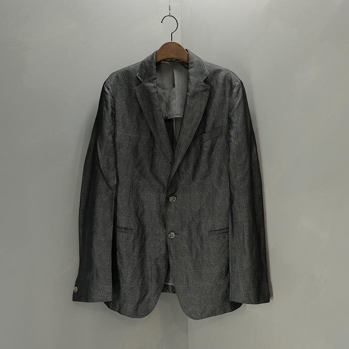 알마니 꼴레지오니 / Made in portugal  Armani collezioni check blazer
