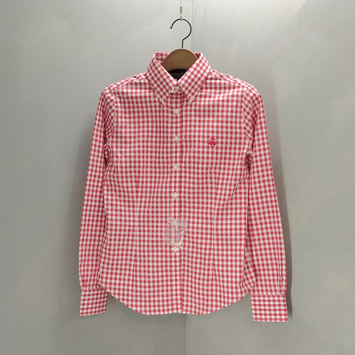 브룩스 브라더스 / 새제품(택없음)  Brooks brothers oxford check shirt