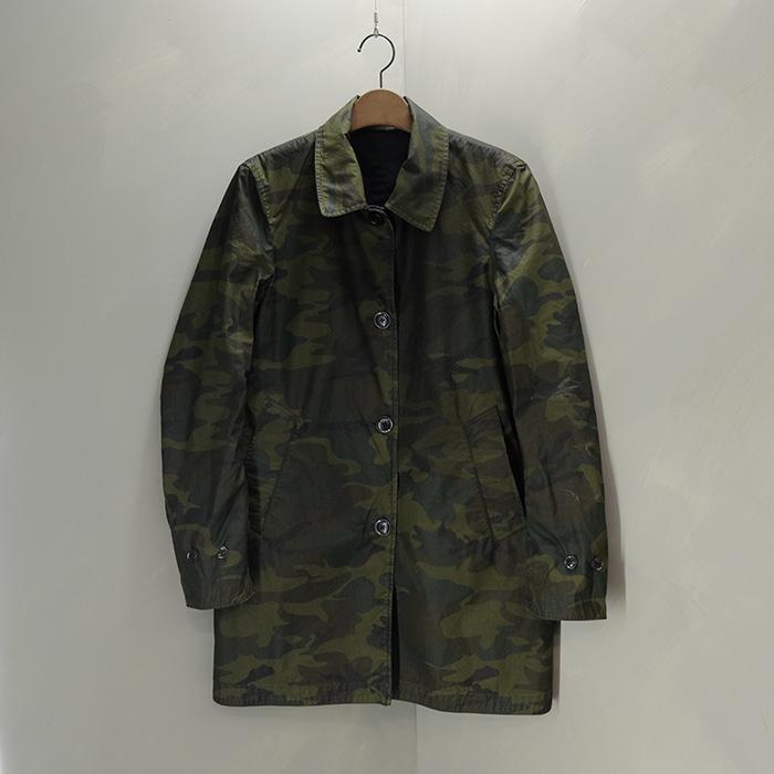 글로벌워크  Global work reversible camo single coat