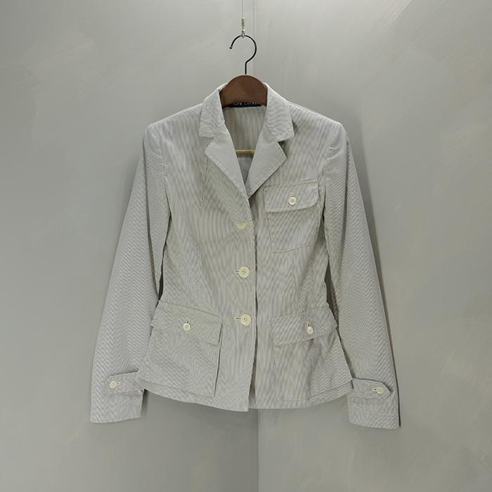 랄프로렌 / Made in japan  Ralph lauren stripe slim blazer