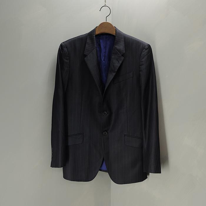 폴스미스 / Made in japan  Paulsmith x zegana fabric wool stirpe blazer
