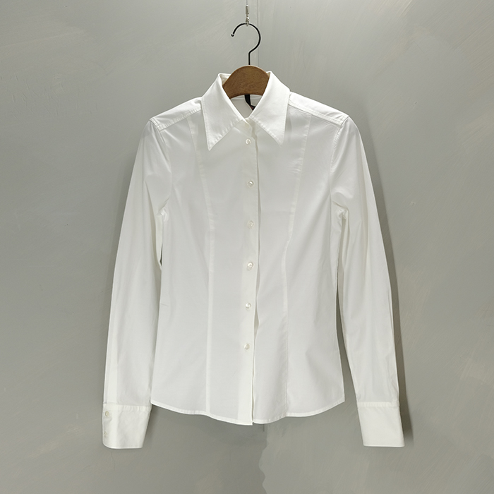 에스카다  Escada slim white slimfit shirt