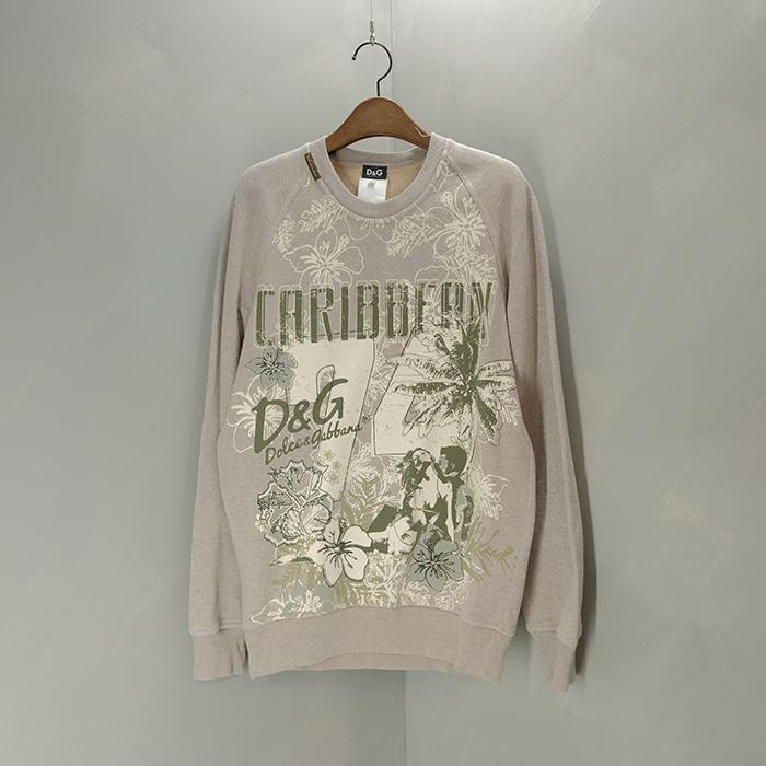 돌체앤가바나 / Made in romania   D&G print sweatshirt