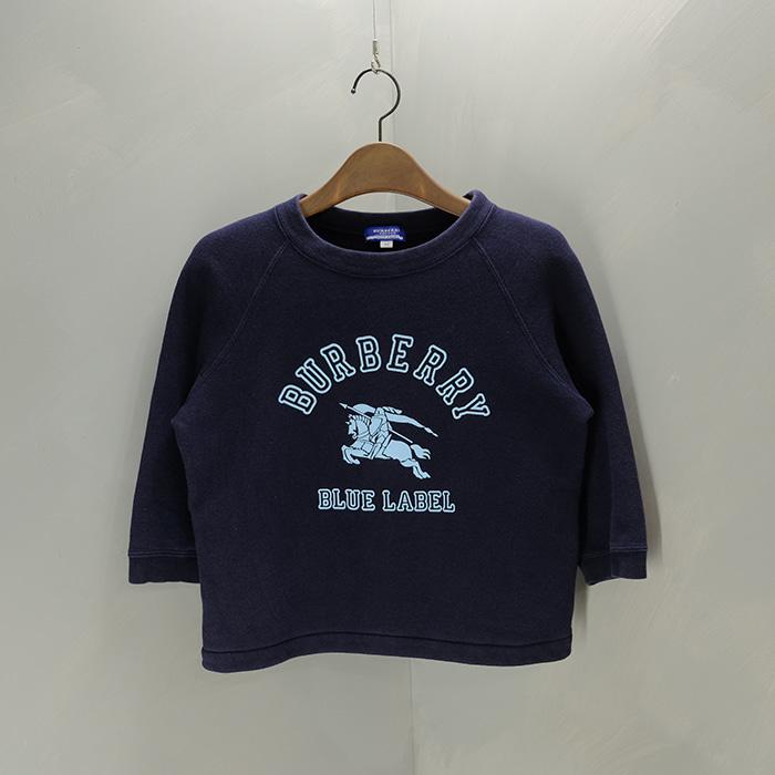 버버리 블루라벨  Burberry bluelabel logo short sweatshirt