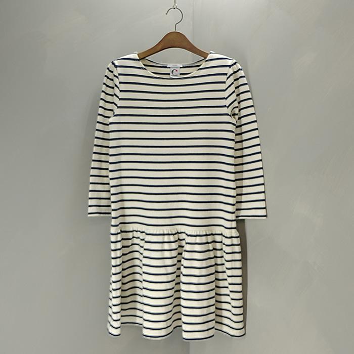 이에나 / Made in france  Iena boat neck stripe opc