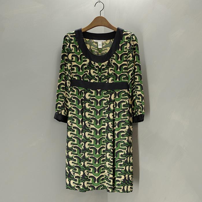 다이앤 본 퍼스텐버그  Diane  von furstenberg silk opc