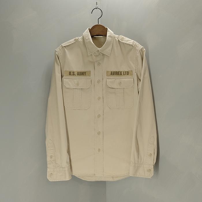 아비렉스  Avirex military shirt