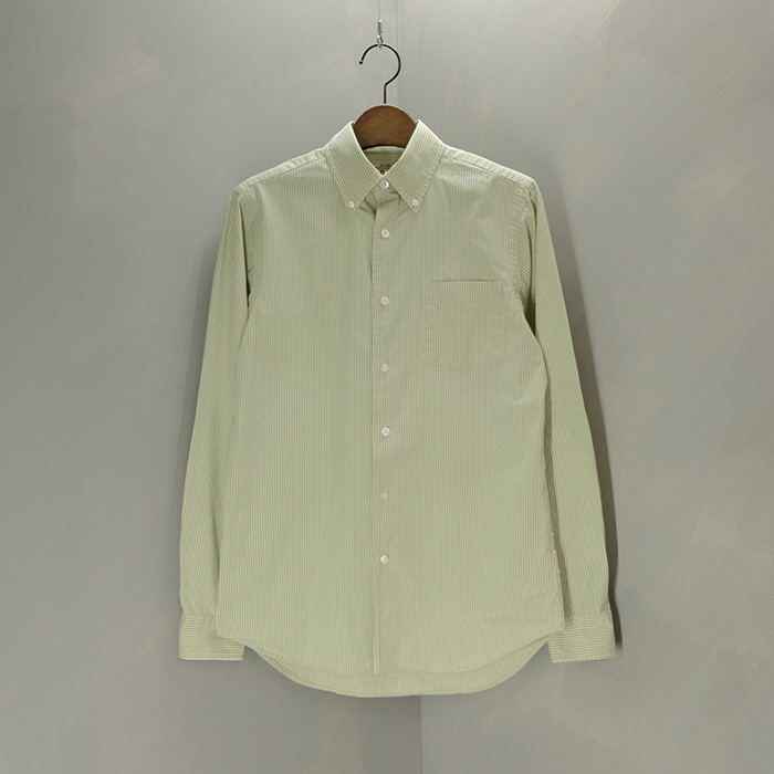 더블알엘  Rrl stripe b/d shirt