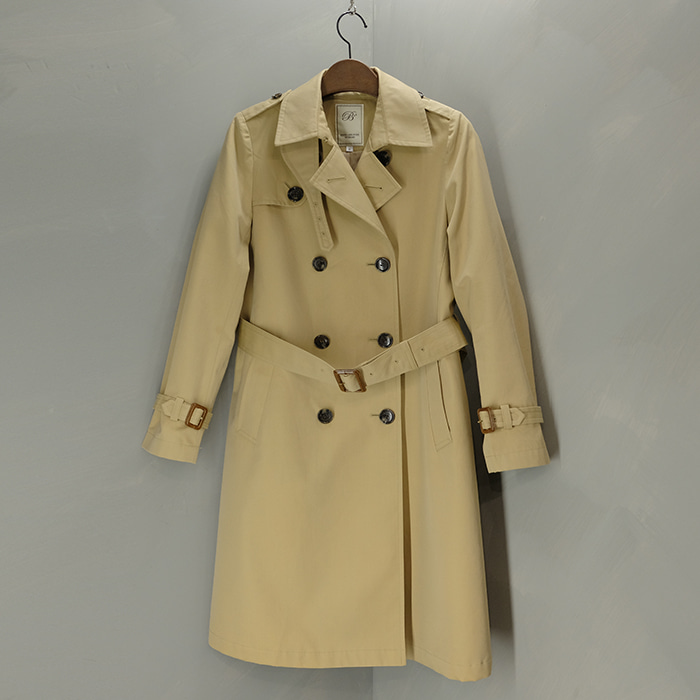 빔즈  B'ming BY beams double trench coat