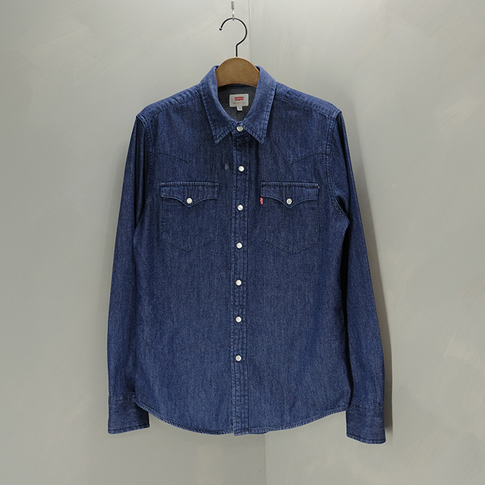 리바이스  Levis denim western shirt
