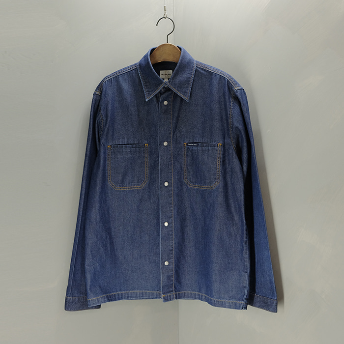 캘빈 클라인  Calvin klein jeans denim snap shirt jacket