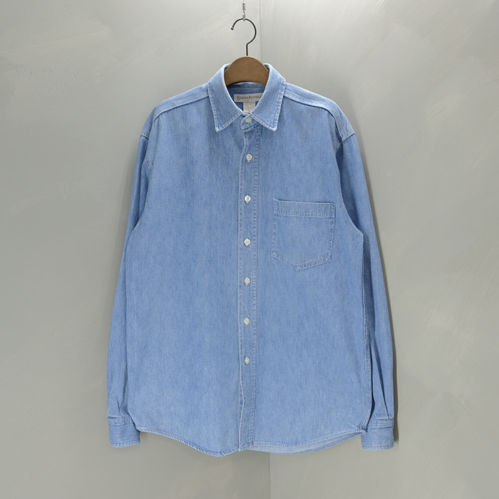 바나나 리퍼블릭 / Made in usa  Banana republic washed denim shirt