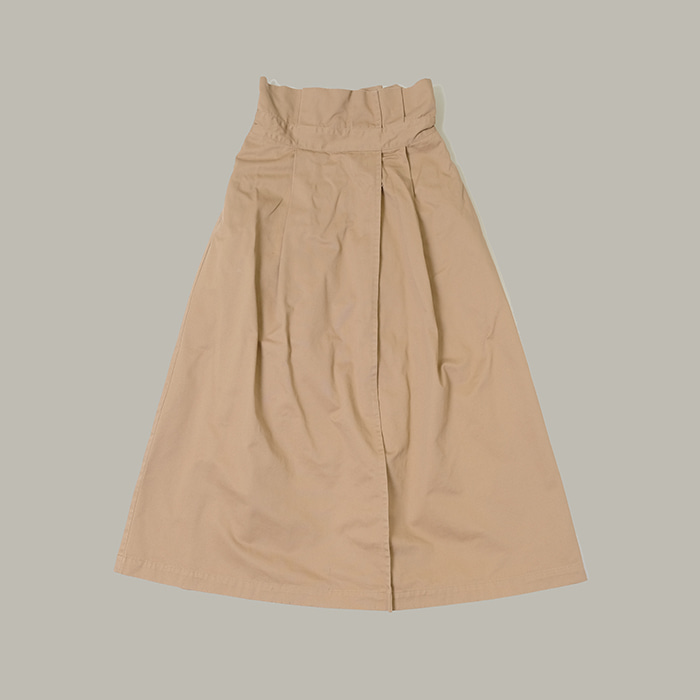 빔즈  Ray beams long banding skirt
