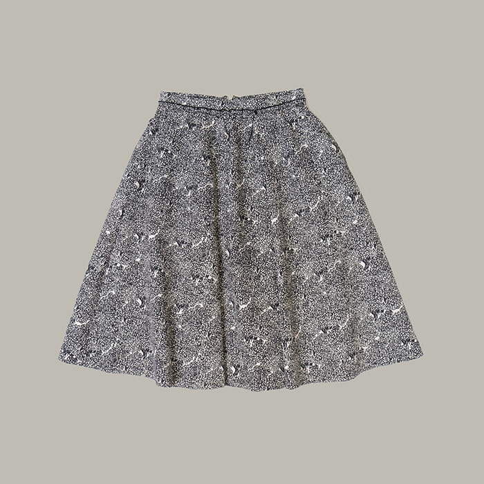 소냐리켈  Sonia rykiel collection print skirt