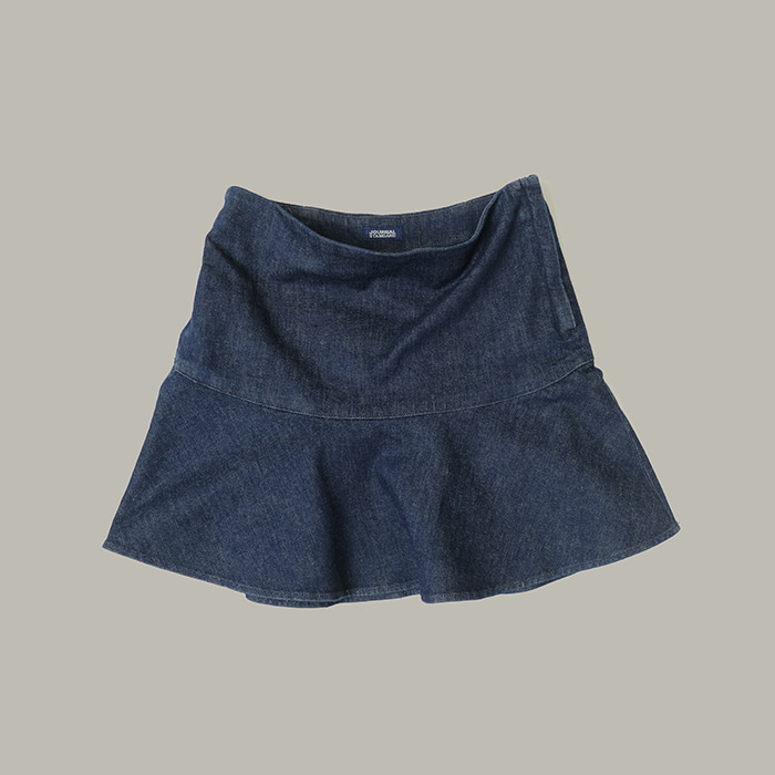 저널 스탠다드 / Made in japan  Journal standard denim flare skirt