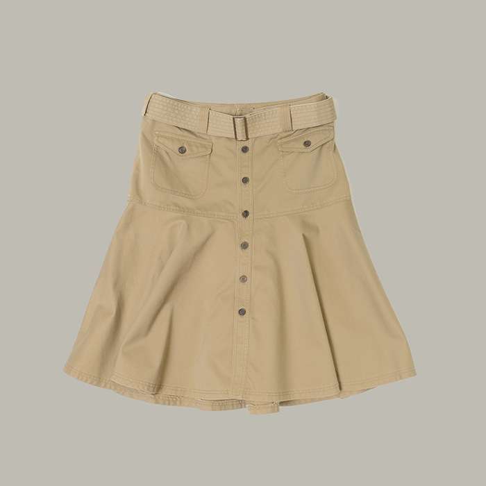 랄프 로렌  Ralph lauren belt skirt