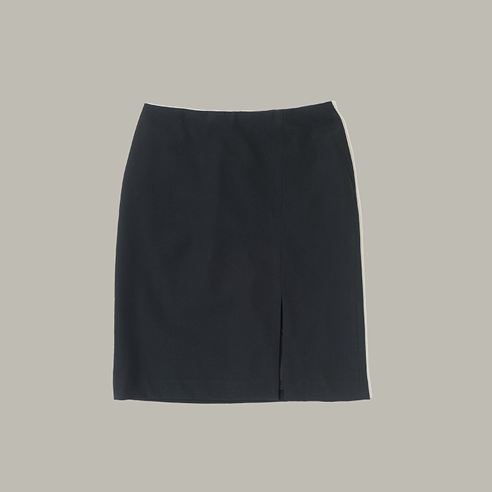 랄프 로렌 / Made in japan  Ralph lauren black wool skirt