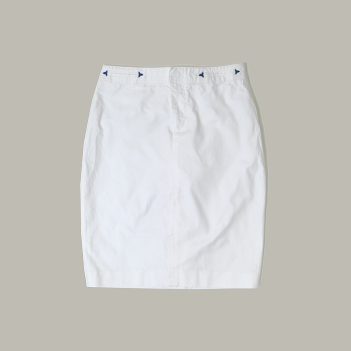 랄프로렌  Ralph lauren white skirt