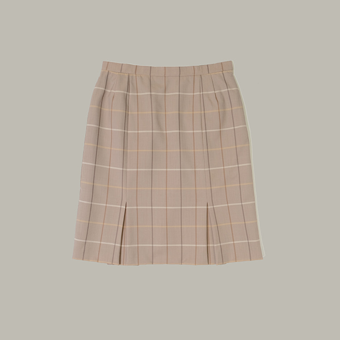 버버리  Burberrys check skirt