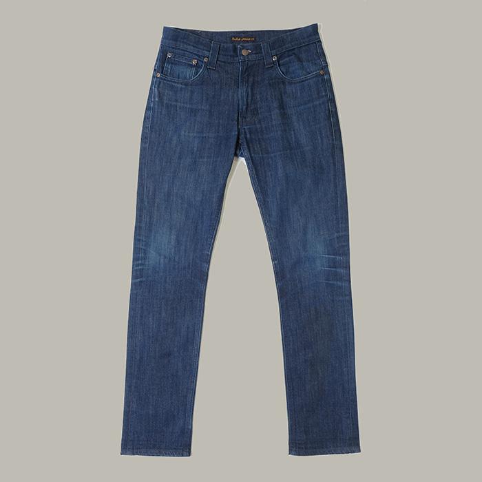 누디진 / Made in italy  Nudie jeans tape ted dry grey embo jeans
