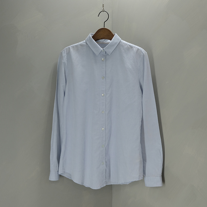 버버리 브릿 / made in romania  Burberry brit linen blend shirt