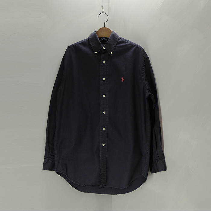 랄프로렌  Ralphlauren black shirt