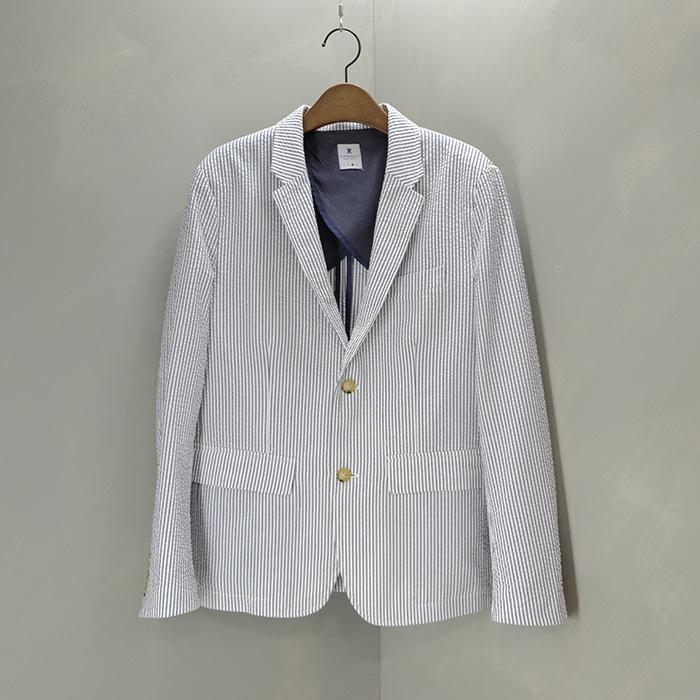 알뉴볼드  Rnewbold by paulsmith seersucker jacket