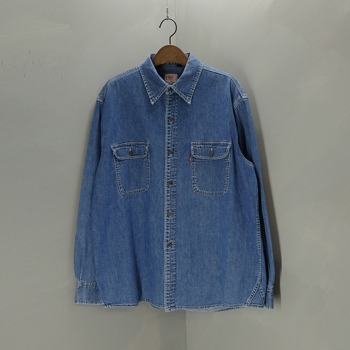 리바이스  Levis 2pocket denim shirt