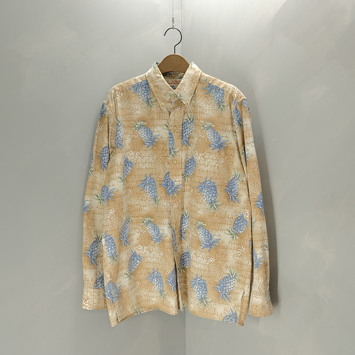 레인스푸너 / Made in hawaii  Reyn spooner alfred shaheen tropical shirt