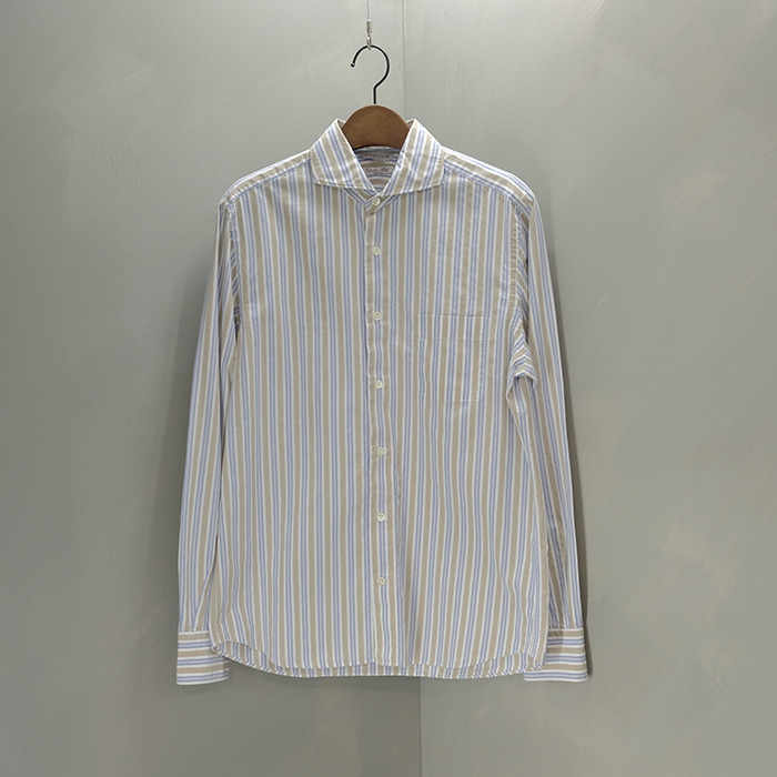 에토네  Etonne universal language stripe shirt