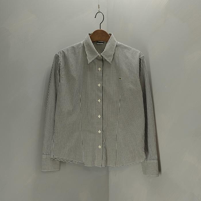 라코스테  Lacoste check shirt