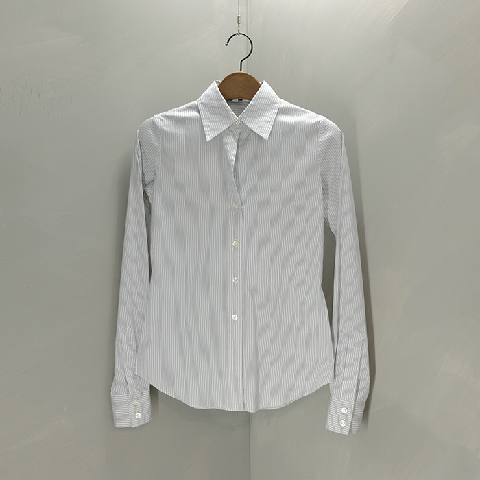 띠어리 / Made in japan  Theory stripe slimfit shirt