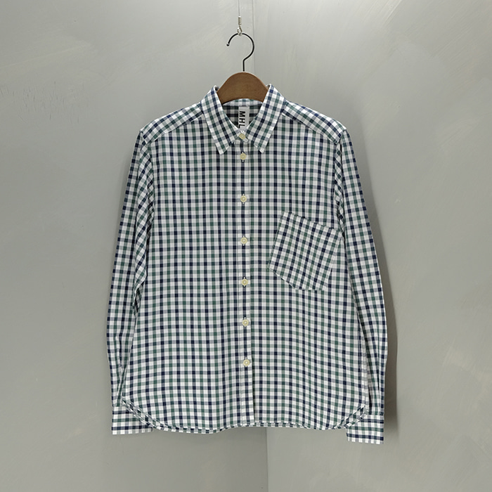 마가렛 호웰  MHL margaret howell check shirt