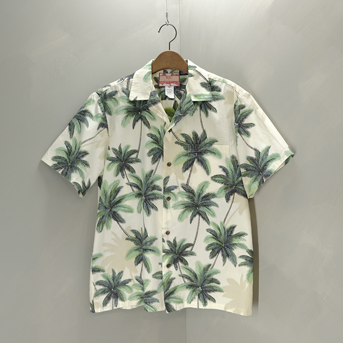알제이씨 / Made in hawaii  RJC tropical aloha shirt