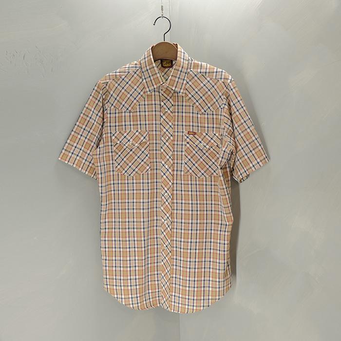 리  Lee western check shirt