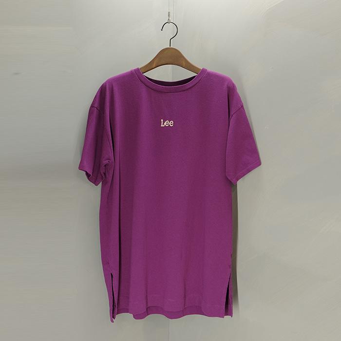 리  Lee logo oversize T