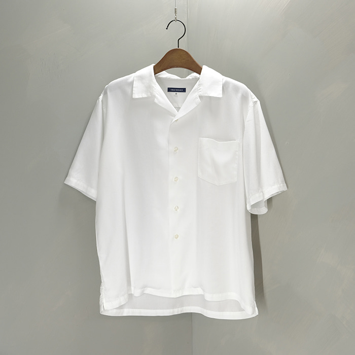 어반리서치  Urban research lyocell opencollar shirt