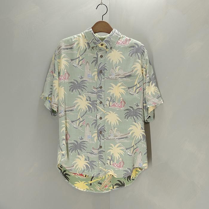 레인스푸너  Reyn spooner reyon tropical shirt