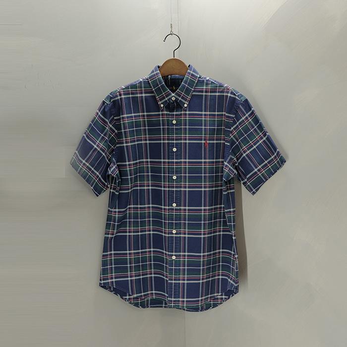 랄프로렌  Ralphlauren stretch oxford check shirt