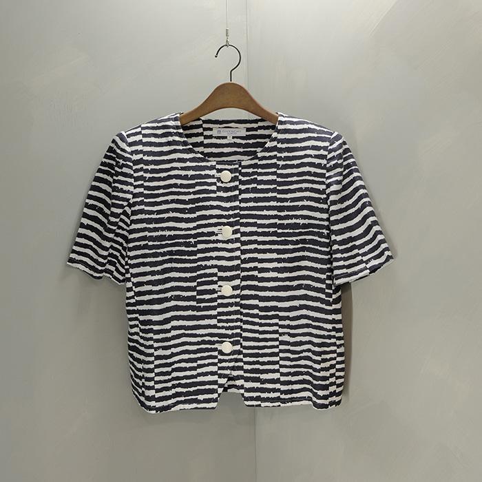 지방시  Givenchy linen stripe jacket