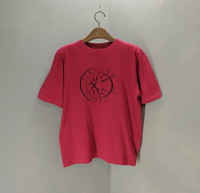 셀린느 / Made in italy  Celine logo print T