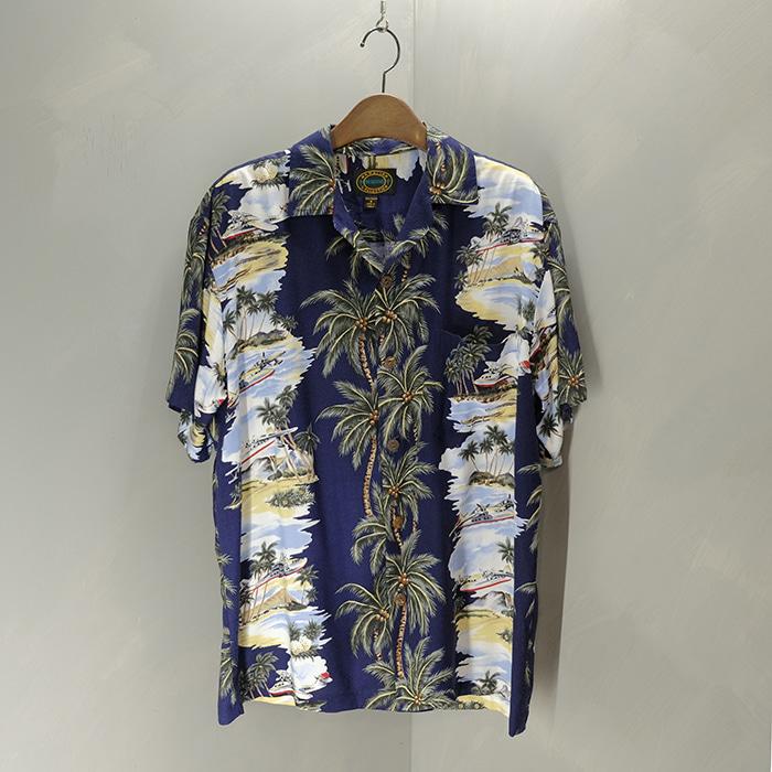 Rayon hawaiian shirt
